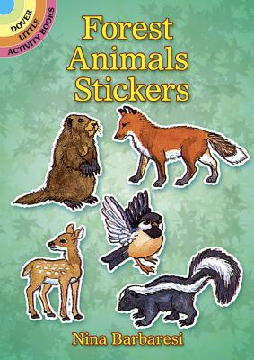 Forest Animals Stickers - Barbaresi, Nina