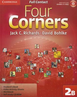 Four Corners Level 2 Full Contact B with Self-study CD-ROM - Richards, Jack C., and Bohlke, David
