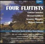 Four Flutists: Music of Peter Homans & William Thomas McKinLey - Bernard Goldberg (flute); Bernard Goldberg (flute); Bernard Goldberg (piccolo); Catherine Saunders (flute);...