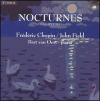 Frédéric Chopin & John Field: The Complete Nocturnes - Agnieszka Chabowska (piano); Bart van Oort (piano); Peter Arts (recorder)