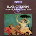 Francesco Geminiani: Sonatas and Arias for Flute and Basso Continuo