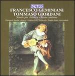 Francesco Geminiani, Tomasso Giordani: Sonate per chitarra e basso continuo