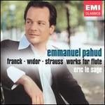 Franck, Widor, Strauss: Works for Flute