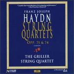 Franz Joseph Haydn: String Quartets Opp. 71 & 74 - Colin Hampton (cello); Griller String Quartet; Jack O'Brien (violin); Philip Burton (viola)