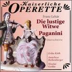Franz Lehár: Die Lustige Witwe/Paganini