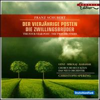 Franz Schubert: Der vierjährige Posten; Die Zwillingsbrüder - Aga Mikolaj (soprano); Andreas Karasiak (tenor); Daniel Philipp Witte (tenor); Heiko Michael Schulz (bass);...