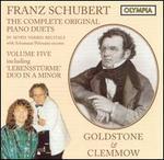 Franz Schubert: The Complete Original Piano Duets, Vol. 5