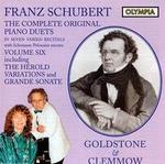 Franz Schubert: The Complete Original Piano Duets, Vol. 6 - Anthony Goldstone (piano); Caroline Clemmow (piano)