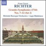 Franz Xaver Richter: Grandes Symphonies Nos. 7-12 (Set 2)