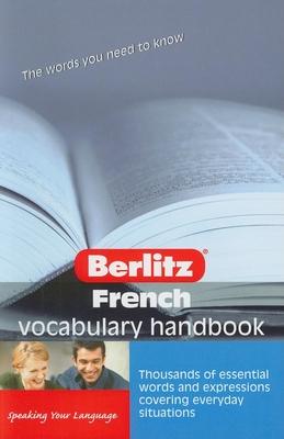 French Berlitz Vocabulary Handbook - Dobson, Kate