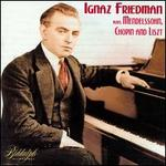 Friedman plays Mendelssohn, Chopin, Liszt
