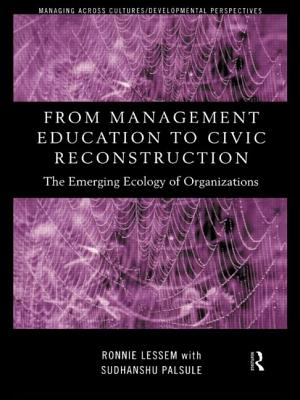 From Management Education to Civic Reconstruction - Lessem, Ronnie