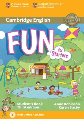 Fun for Starters Student's Book with Audio with Online Activities - Robinson, Anne