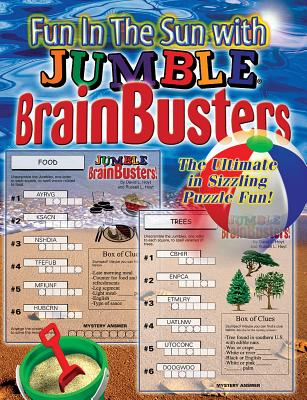 Fun in the Sun with Jumble Brainbusters: The Ultimate in Sizzling Puzzle Fun - Triumph Books