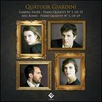 Gabriel Fauré: Piano Quartet No. 1; Mel Bonis: Piano Quartet No. 1