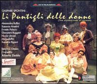 Gaspare Spontini: The Stubborness of Women - Alessandra Ruffini (vocals); Ernesto Palacio (vocals); Francesco Chirivi (flute); Gabriele Catalucci (fortepiano);...