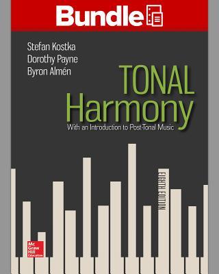 Gen Combo Looseleaf Tonal Harmony; Workbook Tonal Harmony - Kostka, Stefan
