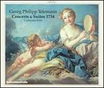 Georg Philipp Telemann: Concerts & Suites 1734
