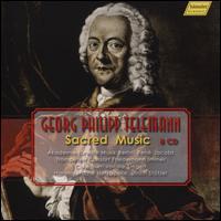 Georg Philipp Telemann: Sacred Music - Achim Ruck (bass); Albrecht Pöhl (bass); Andreas Post (tenor); Angela Froemer (contralto); Barbara Schlick (soprano);...