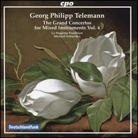 Georg Philipp Telemann: The Grand Concertos for Mixed Instruments, Vol. 4 - Annette Schneider (cello); Annette Spehr (oboe); Annette Wehnert (violin); Christian Binde (horn);...