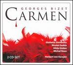 George Bizet: Carmen - Enzo Sordello (baritone); Frederick Guthrie (bass); Gino del Signore (tenor); Giulietta Simionato (mezzo-soprano);...