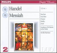 George Frideric Handel: Messiah - Anne Sofie von Otter (mezzo-soprano); Ian Watson (organ); Jerry Hadley (tenor); John Constable (harpsichord);...