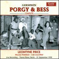 George Gershwin: Porgy & Bess - Cab Calloway (vocals); Helen Colbert (vocals); Helen Dowdy (vocals); Helen Thigpen (vocals); Howard A. Roberts (vocals);...