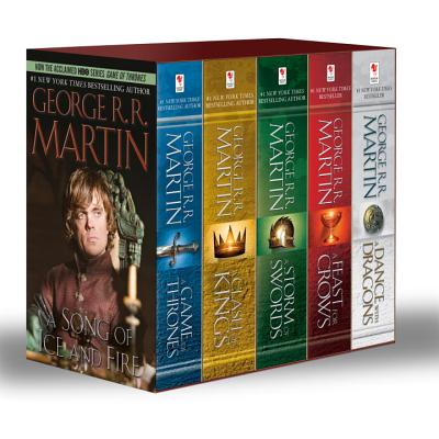 George R. R. Martin's a Game of Thrones 5-Book Boxed Set (Song of Ice and Fire Series): A Game of Thrones, a Clash of Kings, a Storm of Swords, a Feast for Crows, and a Dance with Dragons - Martin, George R R