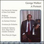 George Walker, A Portrait