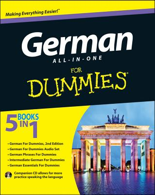 German All-In-One for Dummies - Foster, Wendy, and Christensen, Paulina, and Fox, Anne