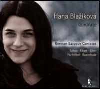 German Baroque Cantatas - CordArte; Hana Blaziková (soprano)