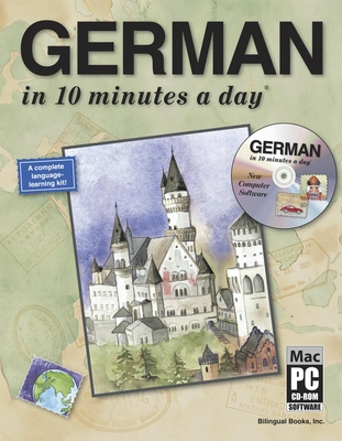 German in 10 Minutes a Day with CD-ROM - Kershul, Kristine K, M.A., and Worthington, Susan (Consultant editor), and McGuire, Jessie G (Consultant editor)