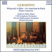 Gershwin: Rhapsody in Blue; An American in Paris; Piano Concerto - Richard Hayman/Slovak Philharmonic Orchestra