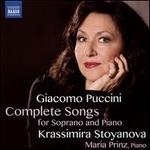 Giacomo Puccini: Complete Songs for Soprano and Piano