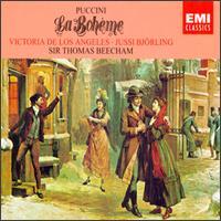 Giacomo Puccini: La Bohème - Fernando Corena (bass); George del Monte (baritone); Giorgio Tozzi (bass); John Reardon (baritone); Jussi Björling (tenor);...