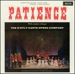 Gilbert & Sullivan: Patience [1961 Recording] - Beti Lloyd-Jones (vocals); Donald Adams (vocals); Gillian Knight (vocals); Jennifer Toye (vocals); John Cartier (vocals); John Reed (vocals); Kenneth Sandford (vocals); Mary Sansom (vocals); Philip Potter (vocals); Yvonne Newman (vocals)