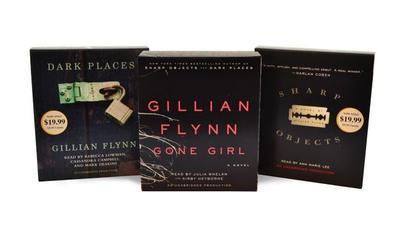 Gillian Flynn CD Audiobook Bundle: Gone Girl; Dark Places; Sharp Objects - Flynn, Gillian