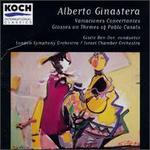 Ginastera: Glosses on Themes of Pablo Casals; Variaciones concertantes