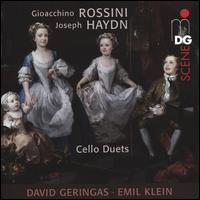 Gioacchino Rossini, Joseph Haydn: Cello Duets - David Geringas (cello); Emil Klein (cello)