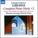 Giorgio Federico Ghedini: Complete Piano Music, Vol. 2
