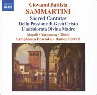 Giovanni Battista Sammartini: Sacred Cantatas - Daniele Ferrari (critical edition); Filippo Ravizza (harpsichord); Giorgio Tiboni (tenor); Massimo Tannoia (cello);...