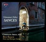 Giovanni Felice Sances: Complete Arias, 1963