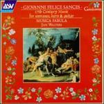 Giovanni Sances: 17th Century Music for Sopranos, Harp & Guitar