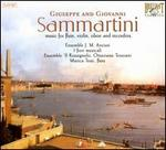 Giuseppe and Giovanni Sammartini: Music for Flute, Violin, Oboe, Recorders