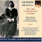 Giuseppe De Luca, 1902-1907