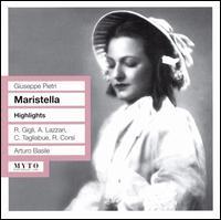 Giuseppe Pietri: Maristella [Highlights] - Agostino Lazzari (vocals); Carlo Perucci (vocals); Carlo Tagliabue (vocals); Dario Caselli (vocals); Gianna Galli (vocals);...