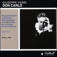 Giuseppe Verdi: Don Carlo - Anna Maria Rota (vocals); Boris Christoff (vocals); Carla Vannini (vocals); Donatella Rosa (vocals);...