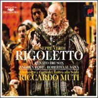 Giuseppe Verdi: Rigoletto - Andrea Rost (vocals); Antonella Trevisan (vocals); Antonio de Gobbi (vocals); Dimitri Kavrakos (vocals);...