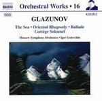 Glazunov: Orchestral Works, Vol. 16