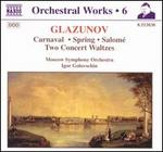 Glazunov: Orchestral Works, Vol. 6